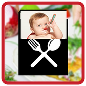 Baby Food Recipe &Toddler Meal Planner- Food chart icon