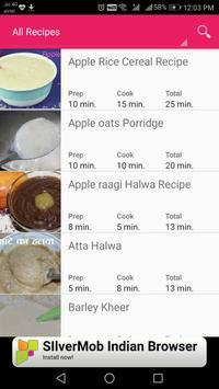 Baby Food Recipe &Toddler Meal Planner- Food chart screenshot 8