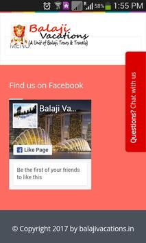 Balaji Vacations screenshot 5