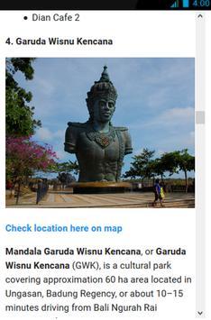 Bali Tourism and Maps screenshot 2