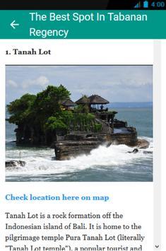 Bali Tourism and Maps screenshot 5