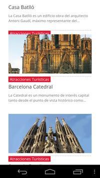 Barcelona Guide poster