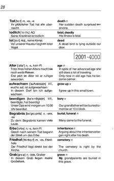 Basic German Vocabulary poster