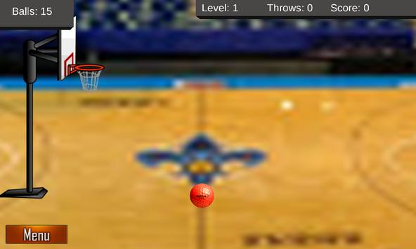 Basket ball classic screenshot 1