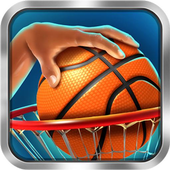 Basketball shoot&dunk icon