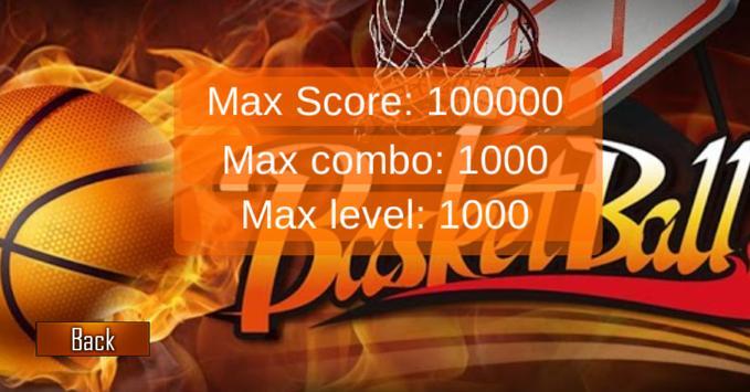 Basketball shoot&dunk apk screenshot