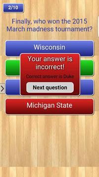 Basketball Quizz apk screenshot