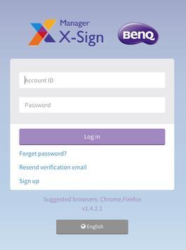 X-Sign WeB Test screenshot 1