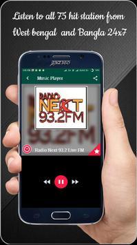 Bengali 24x7 FM Radio poster