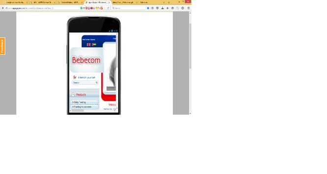 Bebecom screenshot 1