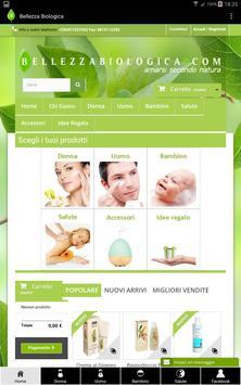 BellezzaBiologica.com Shop poster
