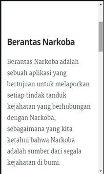 Berantas Narkoba poster