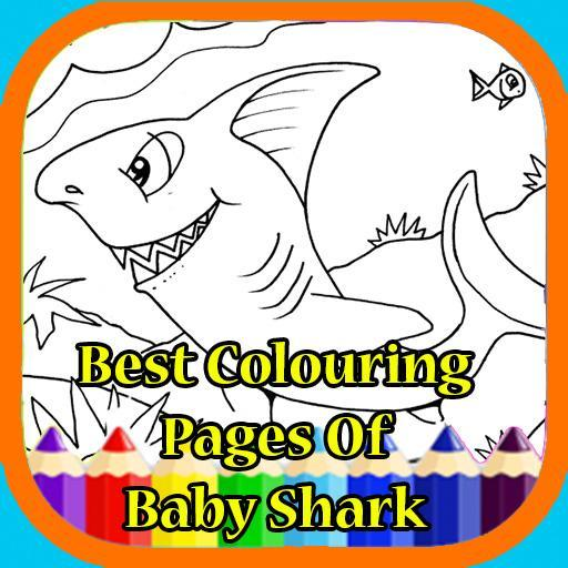 4800 Top Colouring Pages Baby Shark Pictures