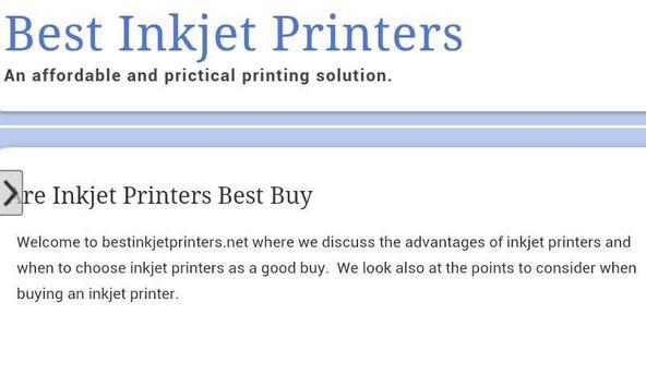Best Inkjet Printers screenshot 1