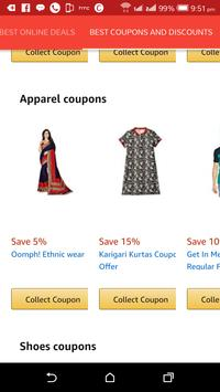 Best deals, coupons and promo codes poster