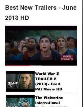 Best New Trailers  [Videos] apk screenshot