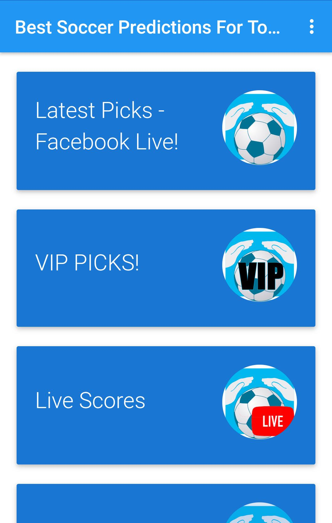 Best Soccer Predictions For Today for Android - APK Download