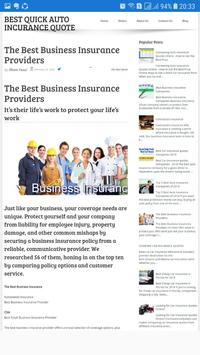 Best Quick Auto Insurance Quotes poster