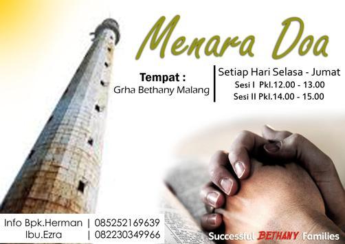 Graha Bethany Malang poster