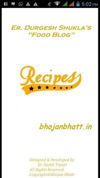 BhojanBhatt poster