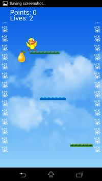 Bird fall down apk screenshot