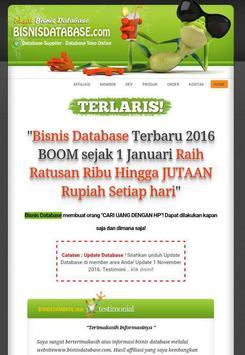 Bisnis Database poster