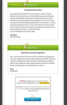 Bisnis Database apk screenshot