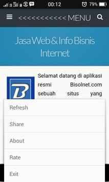 Jasa Web Dan Bisnis Internet apk screenshot