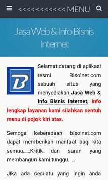 Jasa Web Dan Bisnis Internet poster