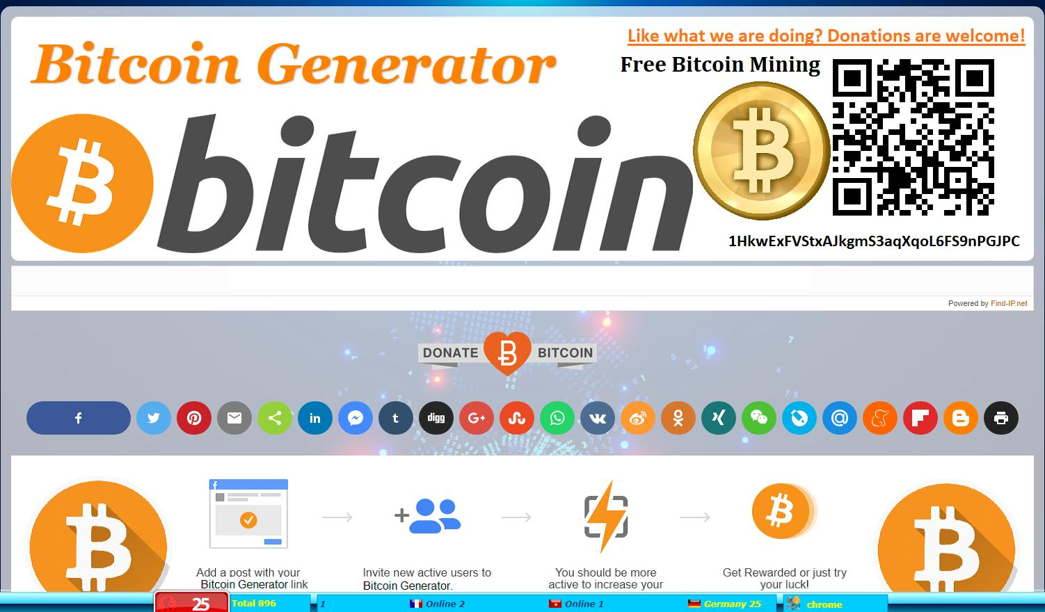 Free Btc Generator Without Fees