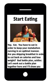 Boosting your Metabolism poster