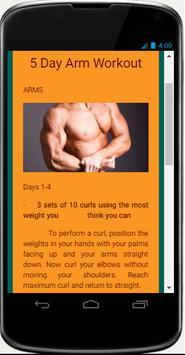 Bodybuilding Fitness Program screenshot 2