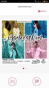 Bollywood Club poster