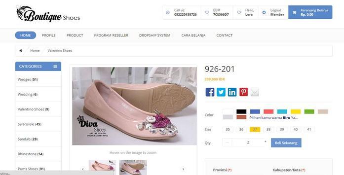 Boutique Jakarta screenshot 1