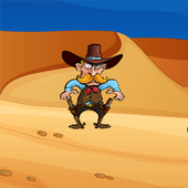 Bounty Hunter Cowboy icon
