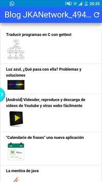 Blog JKANetwork apk screenshot