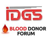 Blood Donor Forum IDGS icon