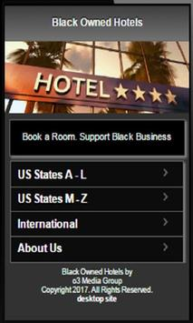 Black Owned Hotels screenshot 1