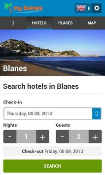 Blanes Hotels poster