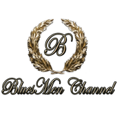 "Radio Blues Rock Music Hits - ""BluesMen Channel"" icon"