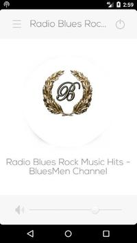 "Radio Blues Rock Music Hits - ""BluesMen Channel"" poster"