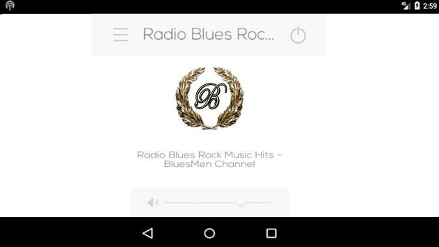"Radio Blues Rock Music Hits - ""BluesMen Channel"" screenshot 1"