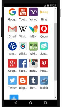 Browser And Social HUB screenshot 1