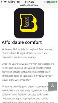 Budget Motels screenshot 2