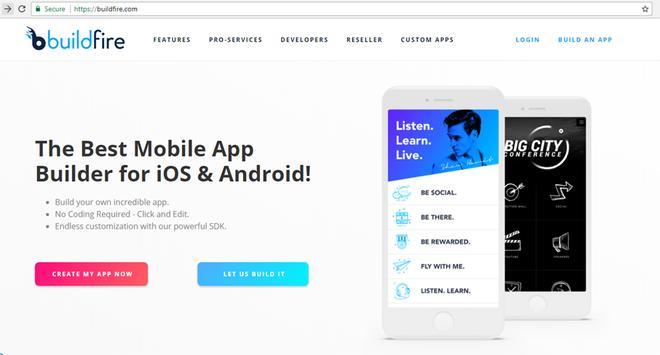 Build App With Websites screenshot 2