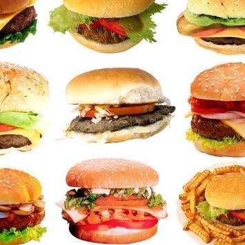 Burger tube poster