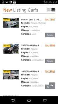 Buy Sale Car Malaysia apk screenshot