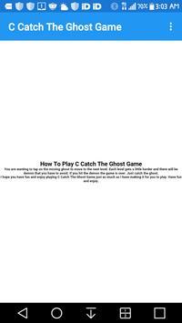 C Catch The Ghost Game_3794746 screenshot 1