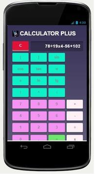 CALCULATOR PLUS screenshot 1