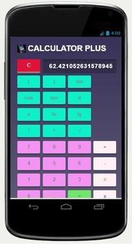 CALCULATOR PLUS screenshot 2